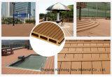 Venta caliente compuesto de plástico del suelo de madera para exterior