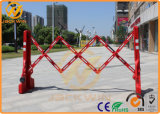 Multi-spoil Water Filled Temporary Expandable Plastic Barrier