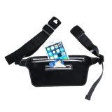 Sacchetto pareggiante Pocket del pacchetto della chiusura lampo di corsa di sport della Fanny del sacchetto corrente impermeabile della cinghia