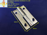 철에 의하여 직류 전기를 통하는 문 기계설비 분리가능한 경첩