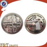 安いカスタム記念品の挑戦硬貨の昇進項目古く旧式な銀貨