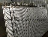 Placa terma grabada de la placa fría inoxidable del diseño