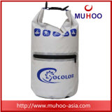 10L ОРАНЖЕВЫЙ ПВХ водонепроницаемый Бич сухой Duffle Bag для спуска на плотах
