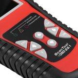 Konnwei Kw830 Obdii Eobdはコード読取装置のスキャンナーの電池のテスター機能の自動車診断走査のツールを非難する