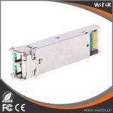 Módulo óptico compatible excelente de Cisco 1000BASE-ZX SFP 1550nm los 80km