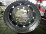 高品質のトラックのトレーラーの車輪の縁、自動車部品の鋼鉄トラックの車輪の縁、自動鋼鉄縁
