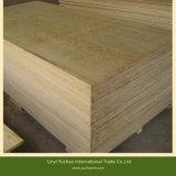 18mm de contrachapado de madera de pino para la construcción de madera contrachapada de C+/C