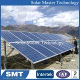 Соединение на массу системы крепления панели солнечных батарей с помощью зажима