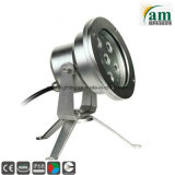 9X3w DC24V IP68 LED 수중 샘 빛