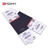 Preço barato claro inlay de PVC de RFID para gerenciamento de vestuário
