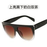 Form-grosse Plastikweinlesesun-Glas-Flieger-Sonnenbrillen für Mann-Frauen