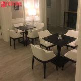 Design moderno e cores branco Espreguiçadeira definido para o Restaurante Temático