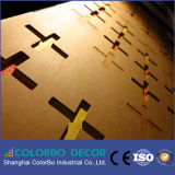 Comitato acustico della parete di legno decorativa dell'isolamento