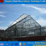 De Enige Spanwijdte van de Serre van het Glas van de Tunnel van het Frame van het aluminium met Automatische Ventilatie
