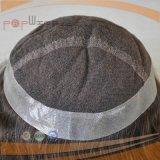 Spitze vorderes PU-rückseitiges Haar-Stück (PPG-l-0577)