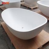 Vasca da bagno indipendente di superficie solida acrilica della mobilia moderna della stanza da bagno