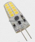 Lâmpada LED 2017 G4 2,5 W 12VDC luz de intensidade regulável