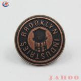 Liga de latão cobre personalizada de logotipo Jeans Metal Botões para jeans