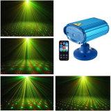De enig-hoofd Lichten van de Laser van de Decoratie van Kerstmis van de Apparatuur van DJ Groene