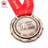 De antieke Medailles van het Lint van de Vlek van de Marathon van het Koper