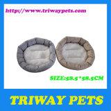 둥근 Flannel 개 침대 (WY161033)