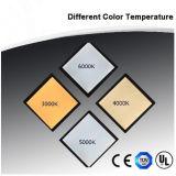 Luz del panel cambiable del color LED con 110lm/W UL Dlc