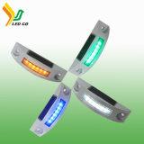 Aleación de aluminio de forma única de espárrago en carretera / LED parpadeante de marcador de carretera