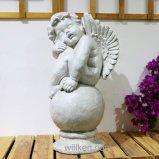 مادّة مغنسيوم حديقة [شروب] ملاك تماثيل لأنّ حديقة زخرفة