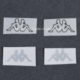 Escritura de la etiqueta de encargo de la impresión del traspaso térmico