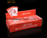 Lucky Flower 100% plástico PVC Poker Playing Cards