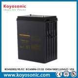 6V 400ah antreibende Batterie-elektrische Reinigungsmittel-/Rasenmähmaschine-Batterie