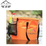 Benna di acqua di campeggio stampata personalizzata promozionale all'ingrosso di piegatura