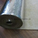 23dB la espuma de goma de la hoja sana del impacto 3m m Alumininum fue la base para el sistema de calefacción de suelo