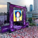 P4.81 P5.95 P6.25 Outdoor pleine couleur 500x500mm Affichage LED panneau mural vidéo pour une utilisation mobile