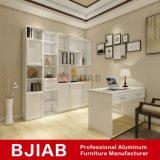 Personalizar el roble blanco metal moderno mobiliario de oficina en casa de aluminio libreria