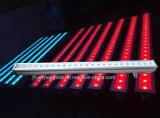 Напольная шайба стены света 24PCS*10W RGBW СИД этапа IP65