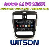 """Grande automobile DVD del Android 6.0 dello schermo di Witson 9 (BASSI) """" per Nissan Tiida 2016"""