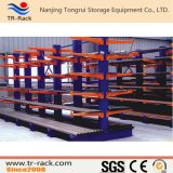 Racking Cantilever do armazenamento ajustável resistente do armazém