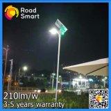 210lm/W im Freien LED angeschaltene Straßen-Garten-Solarbeleuchtung mit Fernsteuerungs