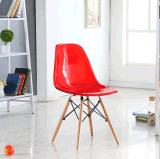 ブナの森の足の食事のための透過Eamesのプラスチック椅子