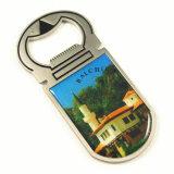 Apri di bottiglia del metallo del ricordo dei commerci all'ingrosso e regalo promozionale del magnete del frigorifero