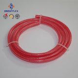 Шланг трубы цветастого волокна PVC Braided