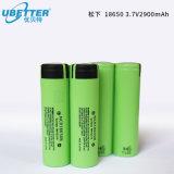 Li-ionen Batterij Panasonnic 18650 3.7V de IonenBatterij van het Lithium Rechageable van 2900mAh