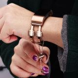 per la carica 2 di Fitbit, cinturino dell'acciaio inossidabile delle donne per il braccialetto della carica 2 di Fitbit
