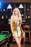 vente en gros sexy de sous-vêtements de bride de barre de boîte de nuit de 4XL 4-Color