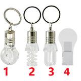 A ampola deu forma ao diodo emissor de luz elétrico do bulbo da movimentação do flash do USB
