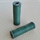 Grüne Farben-überzogener Fertigkeit-Draht des Blumenhändler-Draht-0.9mm