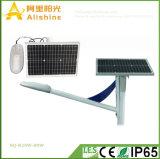 6m 20W LEDの村のプロジェクトのための太陽街灯IP65