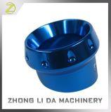 Cilindro hidráulico fazendo à máquina do CNC Machinined do alumínio do CNC do costume