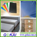 На заводе поставщика Gokai конкурентной цене 3 мм толщиной прозрачный лист из ПВХ с жесткой рамой